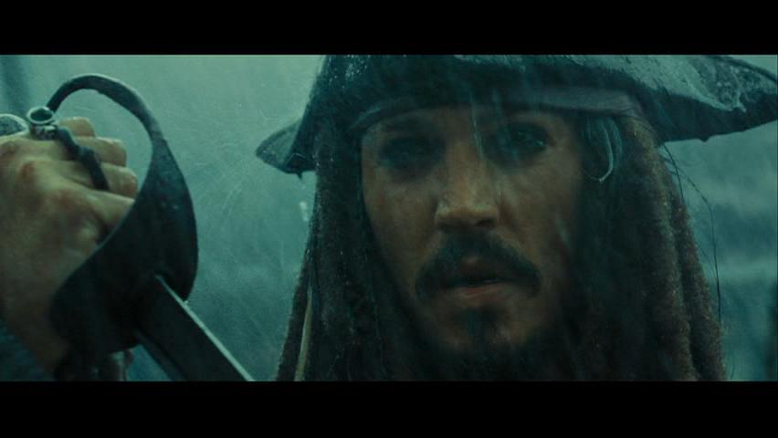 Johnny Depp as Captain Jack Sparrow